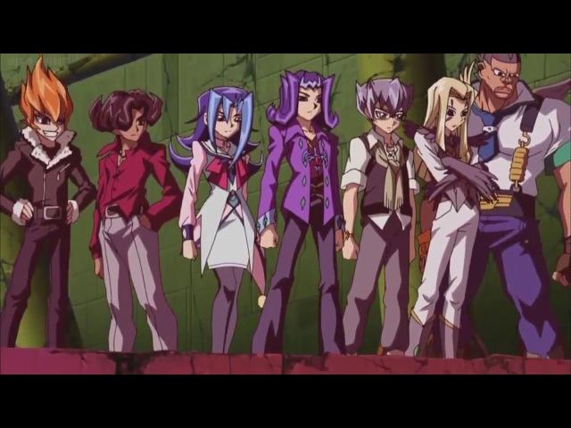 AMV Yu-Gi-Oh! ZeXal - Семь бариевых императоров - JINGO JUNGLE