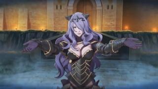 Fire Emblem Fates HD Cutscene - Vs. Camilla (English dub audio) (Higher Quality)
