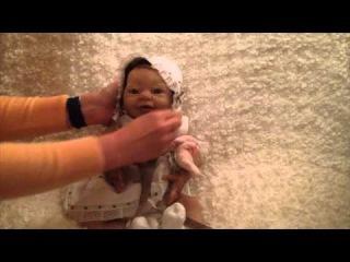 Силиконовая девочка Maisie #1 от Sylvia Manning (Thistleberry Babies)