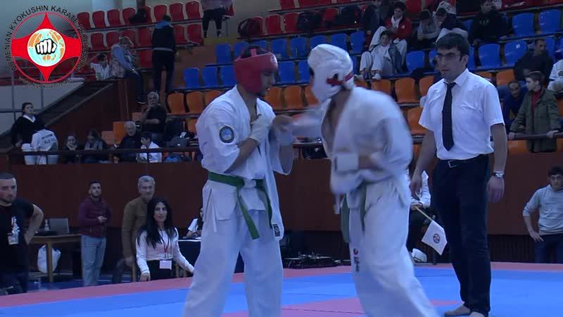 ARMENIAN GRANDPRIX 2019, 16-17, 65kg, Artur Areyan (Armenia) vs Ruslan Mgeladze (Georgia)