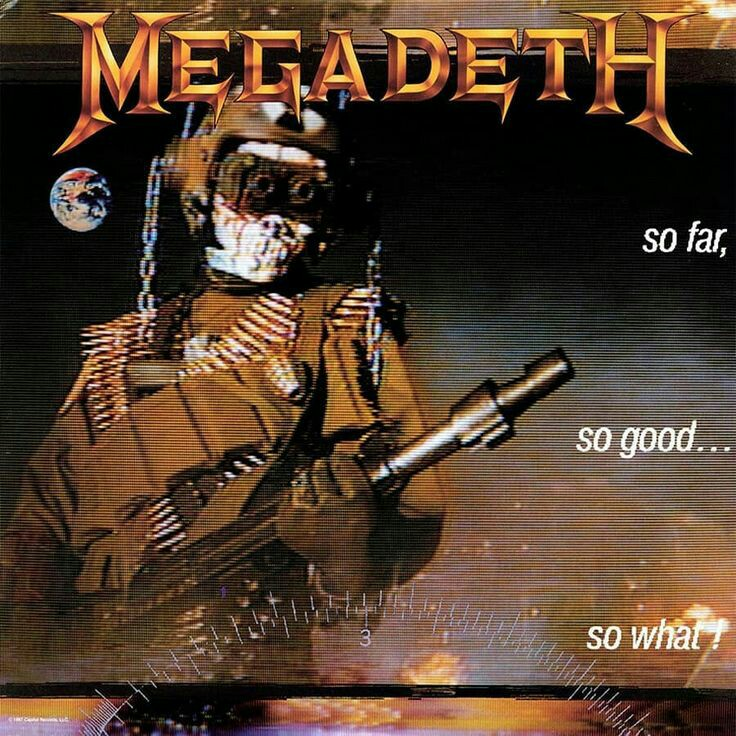 Megadeth - So Far, So Good… So What!