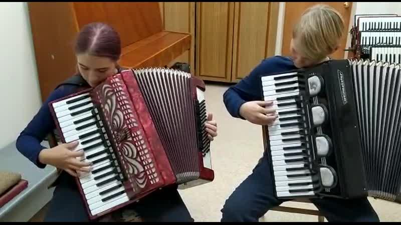 7В класс Самохвалова Анастасия аккордеон