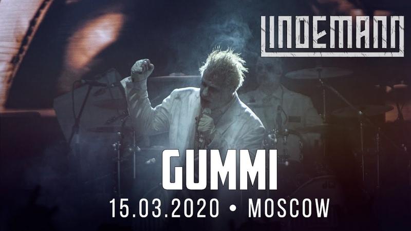 Lindemann Gummi Live in Moscow VTB Arena 15 03 2020