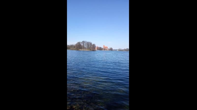 Озеро Гальве (Тракай, Литва)