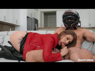 [ / ] Aria Kai - Dick Riding 101 [, All Sex, Piercing, Red Head, Cum on Pussy, Cum Shot]