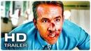 ГЛАВНЫЙ ГЕРОЙ Русский трейлер 1 2021 Райан Рейнольдс SuperHero Movie HD