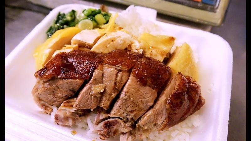 Hong Kong Food Rice Boxes with BBQPork Ducks Chickens YUMMY 香港美食 街市買燒臘飯吃 平靚正 抵食 金輝燒臘沙田 燒臘滷味SIMON廚房