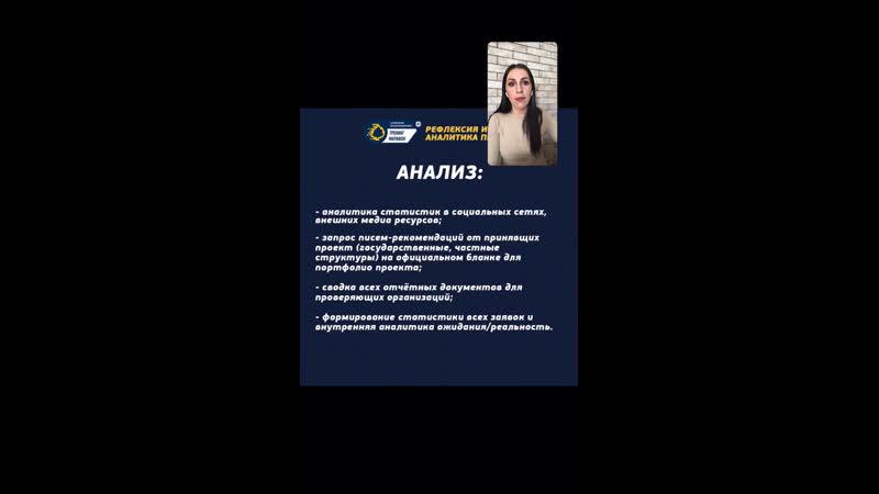 Аналитика проекта с Эллиной Айрапетовой