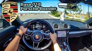2020 Porsche 718 Boxster BASE POV Test Drive - Still a FUN Sports Car