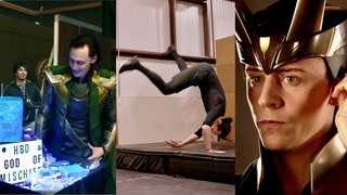 New Loki Behind the scenes & Tom Hiddleston fight training/audition tapes!