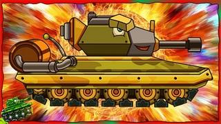 Trò chơi bắn xe tăng quái vật - Trận chiến của quái vật thép phun lửa | Phim hoạt hình về xe tăng