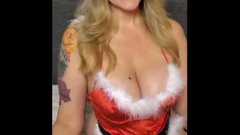 Гламурная Блондинка Sophia Готовится К Ночному Сексу