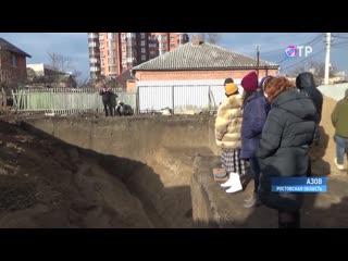 В центре Азова археологи обнаружили загадочную траншею