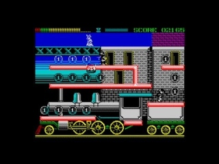 Bonnie and Clyde (50 fps engine) (2020) Walkthrough + Review, ZX Spectrum