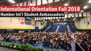 International Orientation Fall 2018 - Humber International Student Ambassadors
