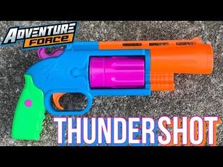 Adventure Force Thundershot 8 Shot Revolver Review [4K]
