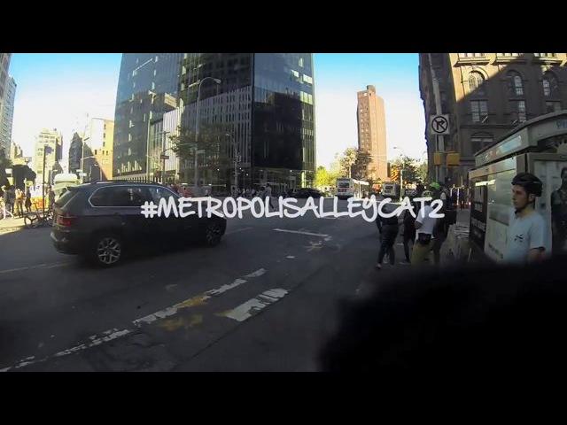 James Macay at the 2014 Metropolis Alleycat 2