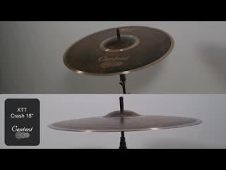 Centent Cymbals - XTT 18 Crash