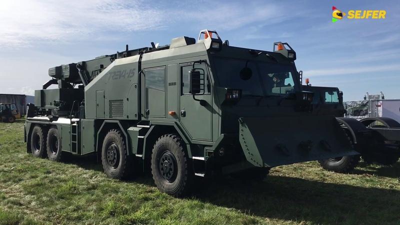 Dny NATO 2019 přípravný týden TATRY na D1 TATRY na Mošnově bojová technika