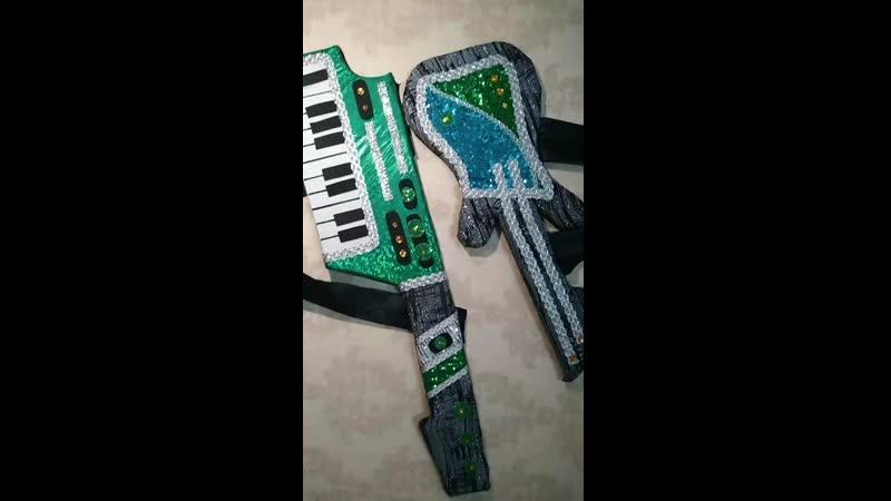 поролоновые музыкальные инструменты на заказ и в наличии большой выбор