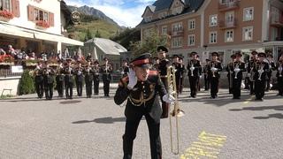 Suworow Kadetten in Andermatt  - Суворовские курсанты в Андерматте (Швейцария)