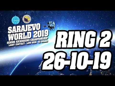 WAKO World Championships 2019 Ring 2 26 10 19