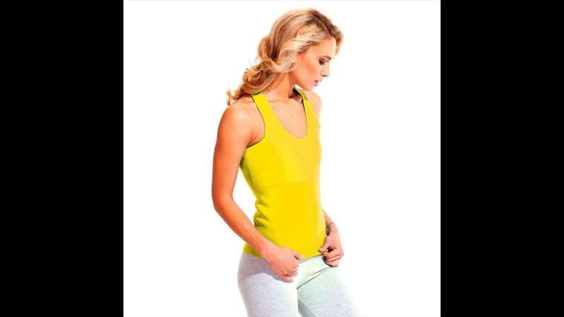 Майка для похудения - Body Shaper (жёлтый), L купить наложенным платежом недорого интернет магазин