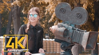 4K Kyiv the Capital of Ukraine - Slow Motion Documentary Film - Cinematic Filmic Color
