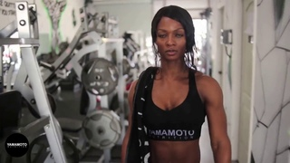 Candice Lewis Carter Workout Motivation - Road to Mr. Olympia 2018