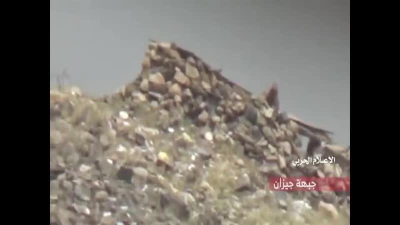 Снайпинг хуситов на приграничных фронтах, 25_10_2020
