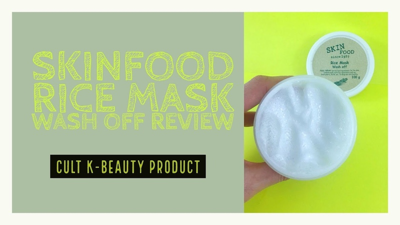 Skinfood Rice Mask Wash Off Review