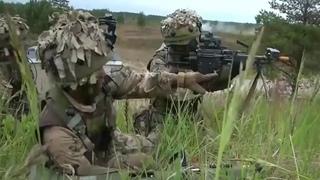 Тренировки спецназа: Корпус морской пехоты США VS Королевские гуркхские стрелки