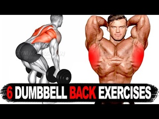 6 BEST BACK WORKOUT WITH DUMBBELL ONLY 💢