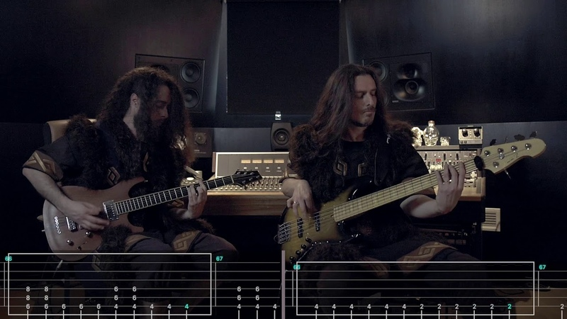 WIND ROSE - Diggy Diggy Hole (Guitar Bass Playthrough) | Napalm Records