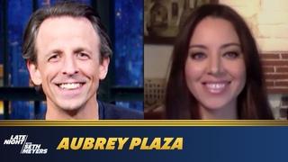 Aubrey Plaza Lost Her Mind While Filming Black Bear