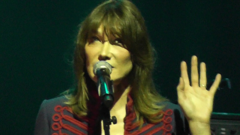Carla Bruni Highway to Hell HD Live From Istanbul 2017