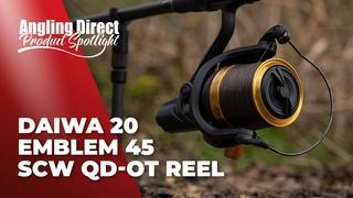 Daiwa 20 Emblem 45 SCW QD-OT Reel