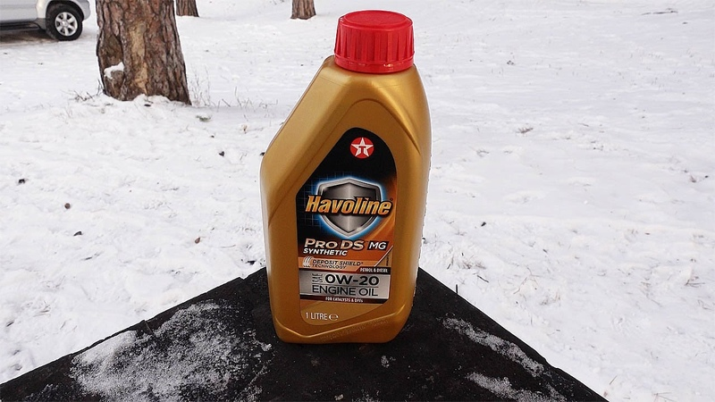 0W 20 для МЕРСЕДЕСА Новое масло Texaco Havoline ProDS MG 0W 20
