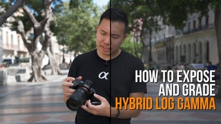 How I Expose & Color Grade Sony Hybrid Log Gamma (HLG) - My FAVORITE a7III a7RIII Picture Profile!