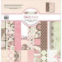 Набор бумаги для скрапбукинга BoBunny 16016308 Primrose Collection Pack 18 лист. 30х30см 1251 р