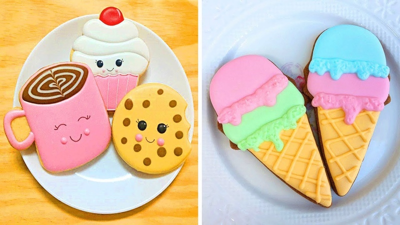 Most Beautiful Homemade Cookies Decorating Ideas For Party Oddly Satisfying Cookies videos