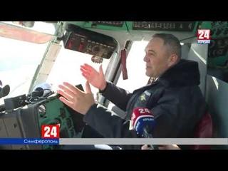Два вертолёта МИ 8 получили крымские бойцы Росгвардии