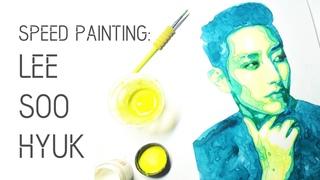 Watercolor Speed Painting: Lee Soo Hyuk