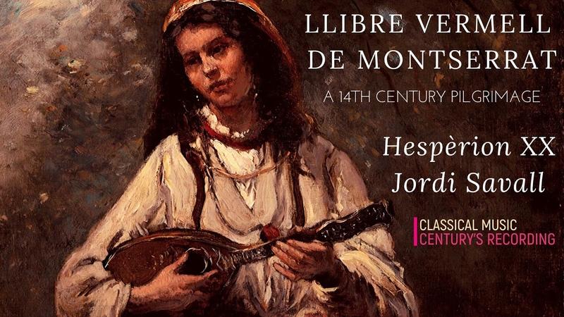 Medieval Music Jordi Savall Llibre Vermell De Montserrat Stella splendens P° Century's rec