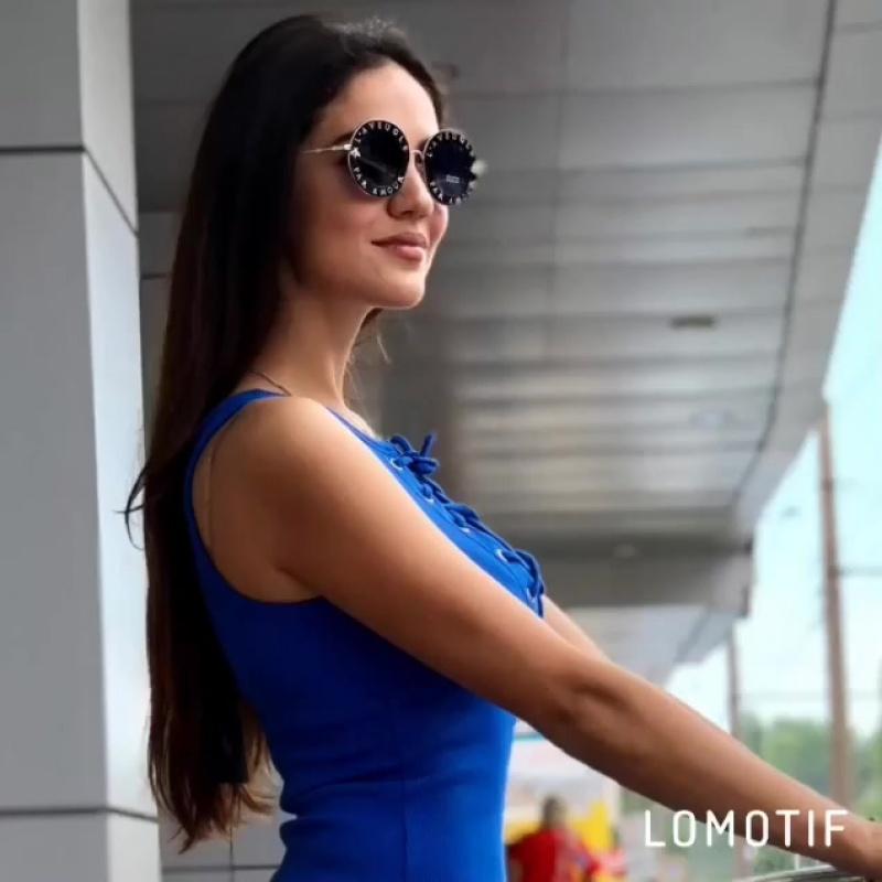 Синее платье -майка 💙💙💙 a.m.n