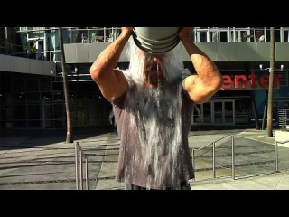 """Triple H takes the """"Ice Bucket Challenge"""""""