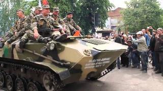 Славянск 9 мая 2014
