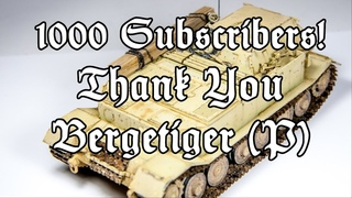 Rebuild of a Dragon Models 1/35 Bergepanzer Tiger (P) | Thank YOU! | Metal Tracks | Weathering
