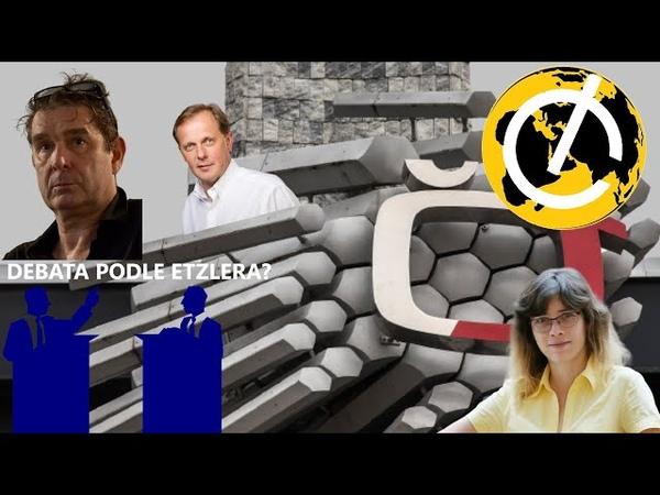 ČU P KA GATE nebezpečná situace kolem České televize a mlčící novináři