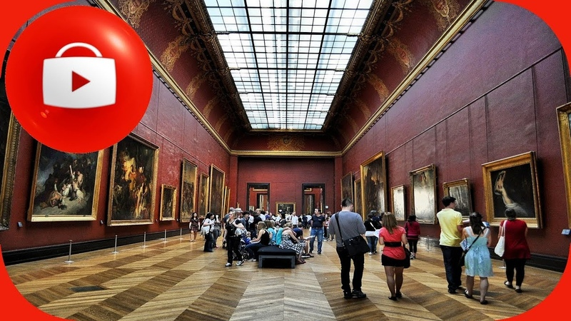 Париж Путешествие по Лувру Paris Louvre